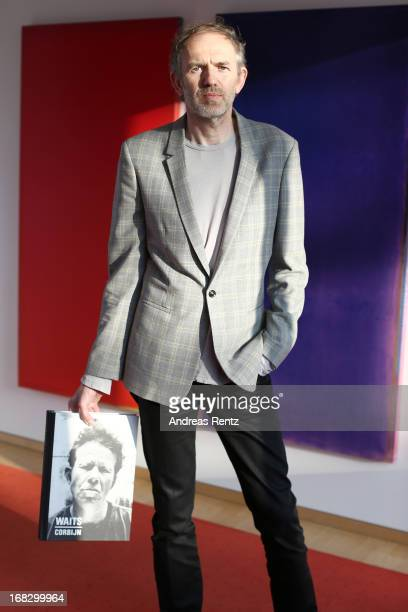 Anton Corbijn attends Anton Corbijn 'Waits/Corbijn7711' book presentation at Dussmann on May 8 2013 in Berlin Germany