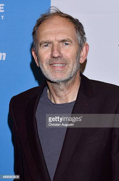 Anton Corbijn attends 'Life' Hamburg Premiere at Abaton Cinema on September 22 2015 in Hamburg Germany
