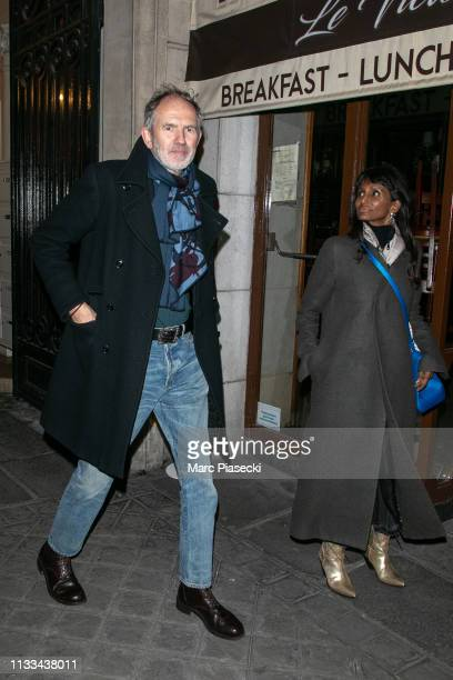 Anton Corbijn attends the 'Americans In Paris' Cocktail Party Outside Arrivals as part of the Paris Fashion Week Womenswear Fall/Winter 2019/2020 on...