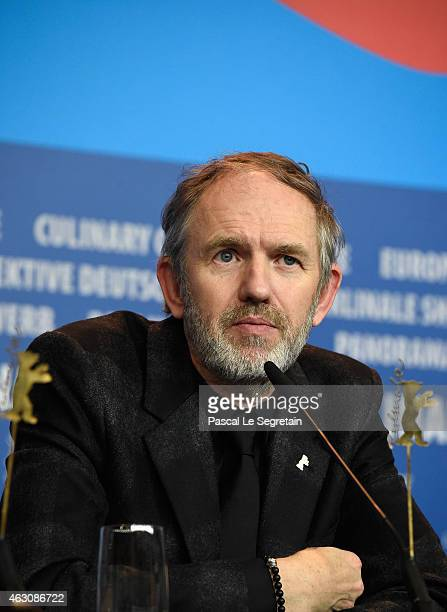 Anton Corbijn attends the 'Life' press conference during the 65th Berlinale International Film Festival at Grand Hyatt Hotel on February 9 2015 in...