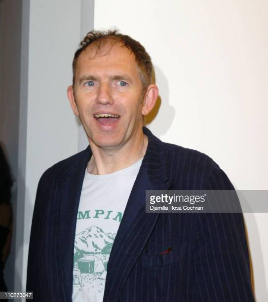 Anton Corbijn during Anton Corbijn's 'U2 I' Opening at the Stellan Holm Gallery at Stellan Hom Gallery in New York City New York United States