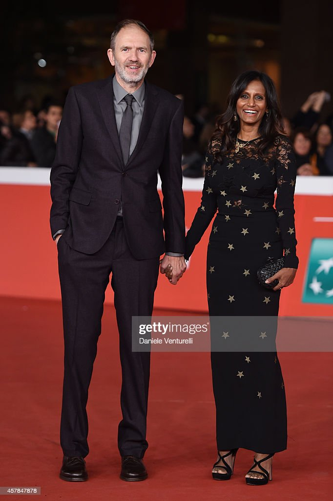 Anton Corbjin and wife Nini attend the 'A Most Wanted Man' red carpet during the 9th Rome Film Festival at Auditorium Parco Della Musica on October 25, 2014 in Rome, Italy.