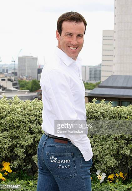 Anton de Beck is voted as Wizard Jeans Rear Of The Year 2011 at The Dorchester on June 8 2011 in London England