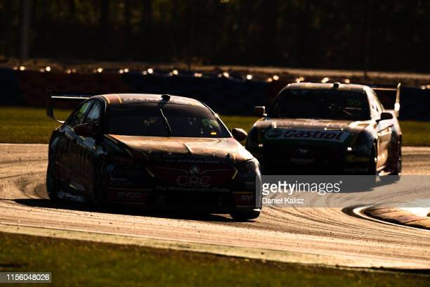 Anton de Pasquale drives the Penrite Racing Holden Commodore ZB during the Darwin Triple Crown round of the Supercars Championship at Hidden Valley...
