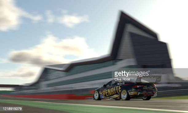 Anton De Pasquale driving the Penrite Racing Holden Commodore ZB in Qualifying during round 2 of the Supercars All Stars Eseries at Silverstone on...