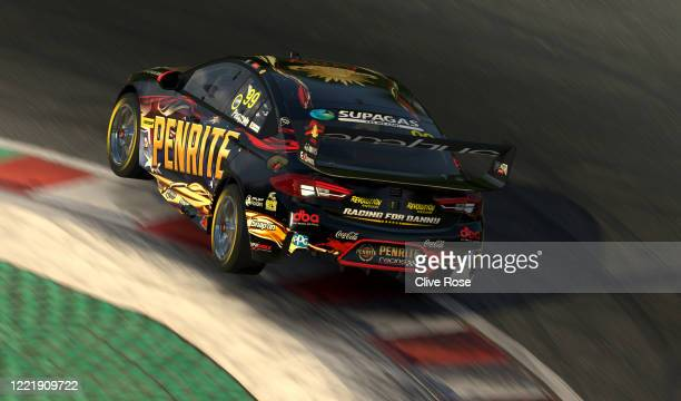 Anton de Pasquale driving the Penrite Racing Holden Commodore ZB in action during round 4 of the Supercars All Stars Eseries at Circuit Gilles...