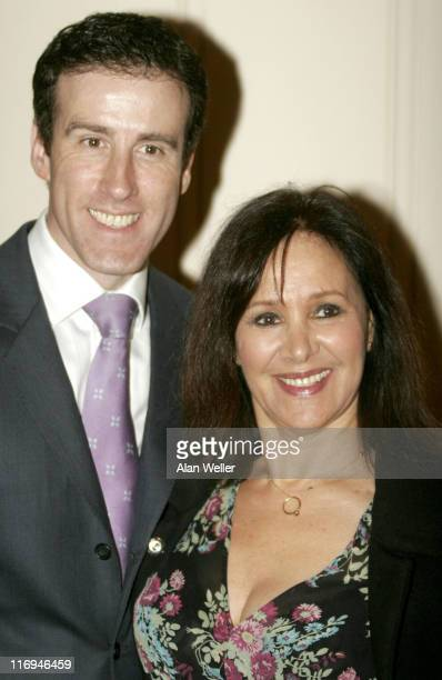 Anton du Beke and Arlene Phillips during Critics' Circle National Dance Awards 2006 at Vilar Floral Hall Royal Opera House in London Great Britain
