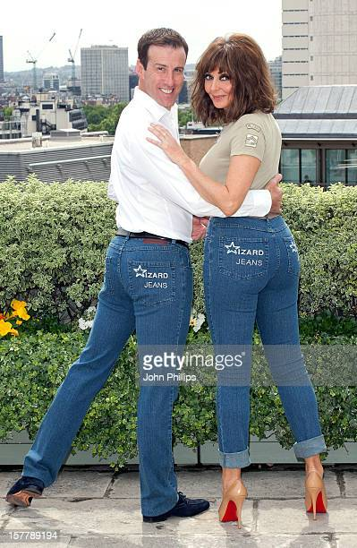 Anton Du Beke And Carol Vorderman Win Wizard Jeans Rear Of The Year Award 2011 At The Dorchester Hotel In London
