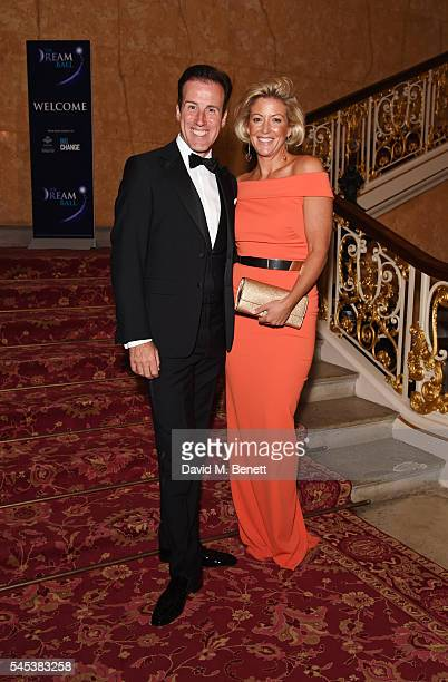 Anton du Beke and Hannah Summers attend The Dream Ball in aid of The Prince's Trust and Big Change at Lancaster House on July 7 2016 in London United...