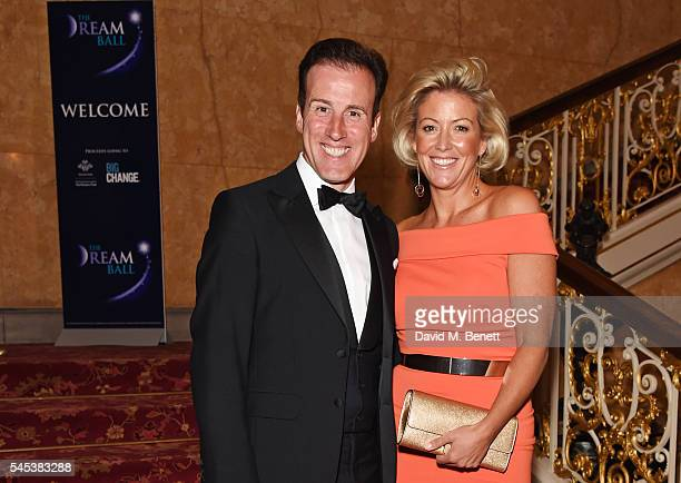 Anton du Beke and Hannah Summers attend The Dream Ball in aid of The Prince's Trust and Big Change at Lancaster House on July 7, 2016 in London,...