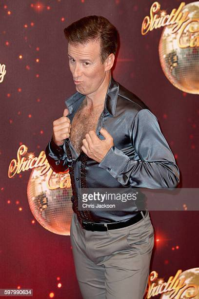 Anton du Beke arrives for the launch of 'Strictly Come Dancing 2016' at Elstree Studios on August 30 2016 in Borehamwood England