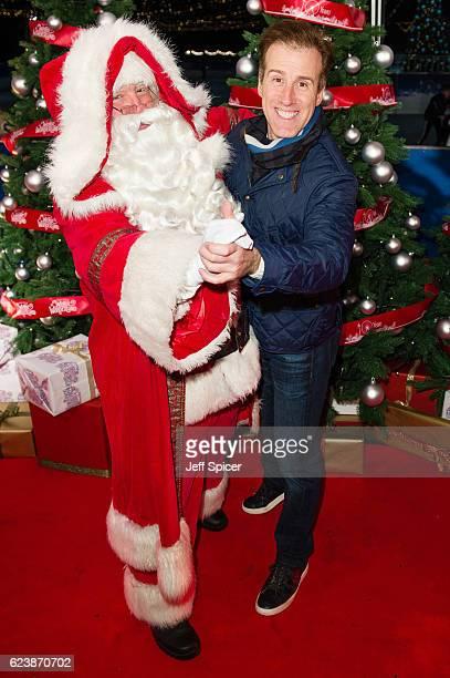 Anton du Beke arrives for the VIP Preview of Winter Wonderland at Hyde Park on November 17 2016 in London United Kingdom
