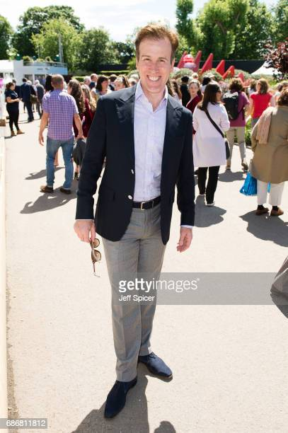Anton du Beke attends RHS Chelsea Flower Show press day at Royal Hospital Chelsea on May 22 2017 in London England