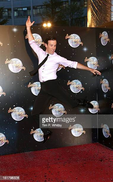 Anton du Beke attends the launch of Strictly Come Dancing 2012 at BBC Television Centre on September 11 2012 in London England