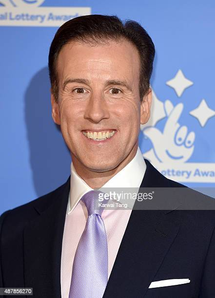 Anton du Beke attends the National Lottery Awards at The London Television Centre on September 11 2015 in London England