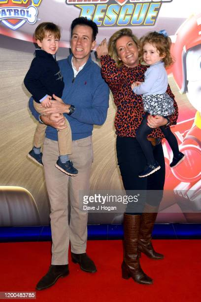 """Anton Du Beke attends the """"Paw Patrol"""" gala screening at Cineworld Leicester Square on January 19, 2020 in London, England."""