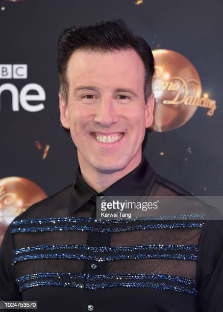Anton Du Beke attends the red carpet launch for 'Strictly Come Dancing 2018' at Old Broadcasting House on August 27 2018 in London England