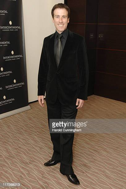 Anton du Beke during InterContinental London Park Lane Relaunch Gala Inside Arrivals at InterContinental Hotel in London Great Britain