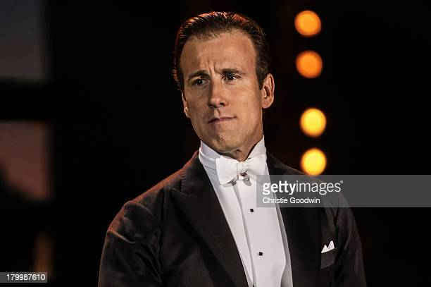 Anton Du Beke performs on stage as part of BBC Proms In The Park at Hyde Park on September 7 2013 in London England