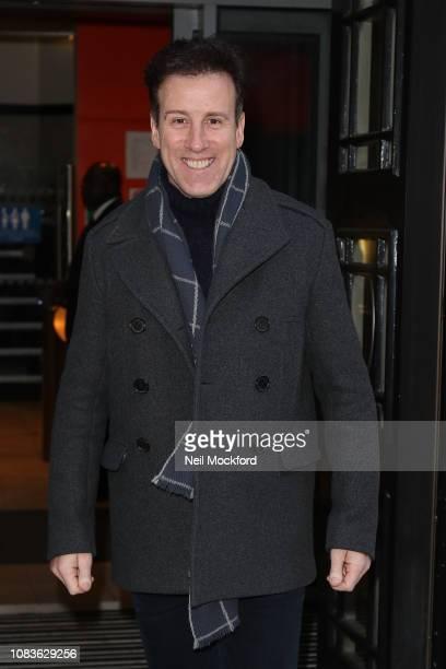 Anton du Beke seen at BBC Radio 2 on December 17 2018 in London England