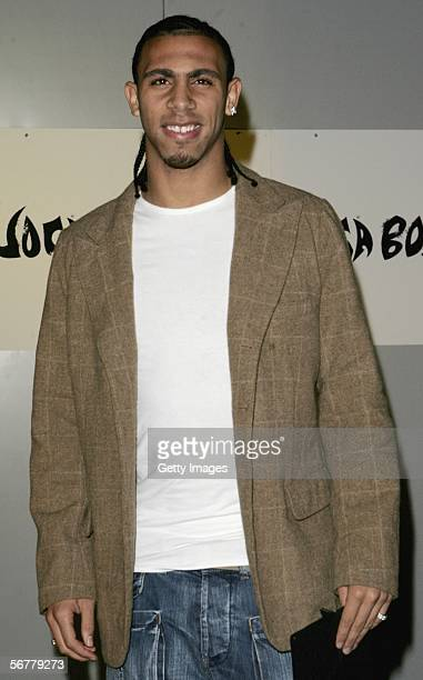 Anton Ferdinand arrives at the launch of Nike's 'Joga Bonito' at the Truman Brewery on February 7 2006 in London England Wayne Rooney Rio Ferdinand...