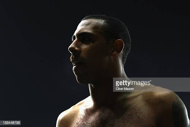 Anton Ferdinand of Queens Park Rangers leaves the pitch after the Barclays Premier League match between Stoke City and Queens Park Rangers at...