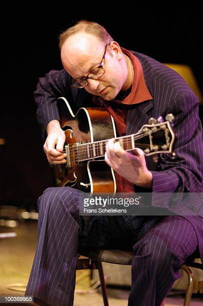 Anton Goudsmit performs live on stage at Bimhuis in Amsterdam, Netherlands on December 06 2002