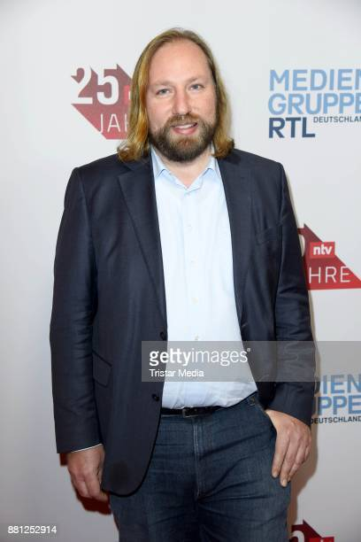 Anton Hofreiter attends the 25 years anniversary ntv event at Bertelsmann Repraesentanz on November 28 2017 in Berlin Germany