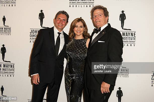 Anton J Bilchik Nadia Bilchik and Patrick Wayne attend the John Wayne Cancer Institute Auxiliary's 29th Annual Odyssey Ball hosted at the Regent...