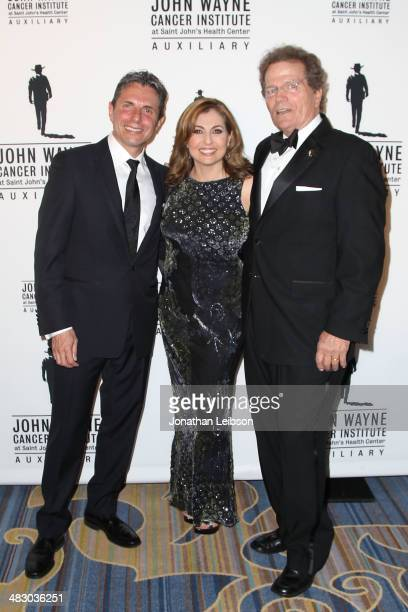 Anton J Bilchik Nadia Bilchik and Patrick Wayne attend the John Wayne Cancer Institute Auxiliary's 29th Annual Odyssey Ball Arrivals at Regent...