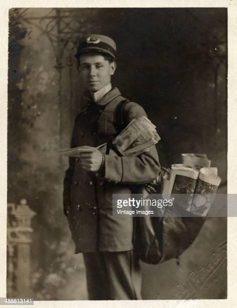 Anton J Santoni of the United States Postal Service USA 1906