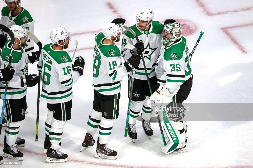 Dallas Stars v Vegas Golden Knights - Game One : Photo d'actualité