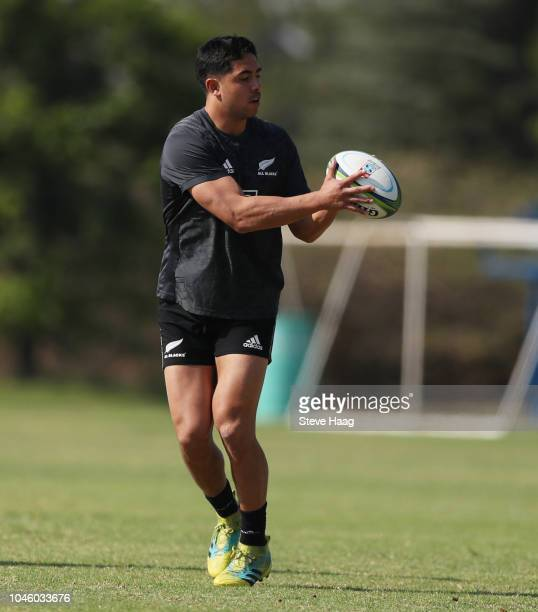 Anton LienertBrown during the Rugby Championship New Zealand All Blacks captain's run at St Davids Marist Inanda 36 Rivonia Rd Sandown Sandton on...
