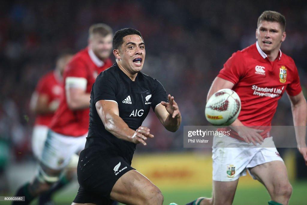 New Zealand v British & Irish Lions : News Photo