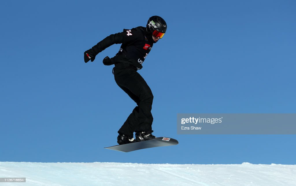 FIS World Snowboard Championships - Men's and Women's Snowboard Cross Qualifiers : News Photo