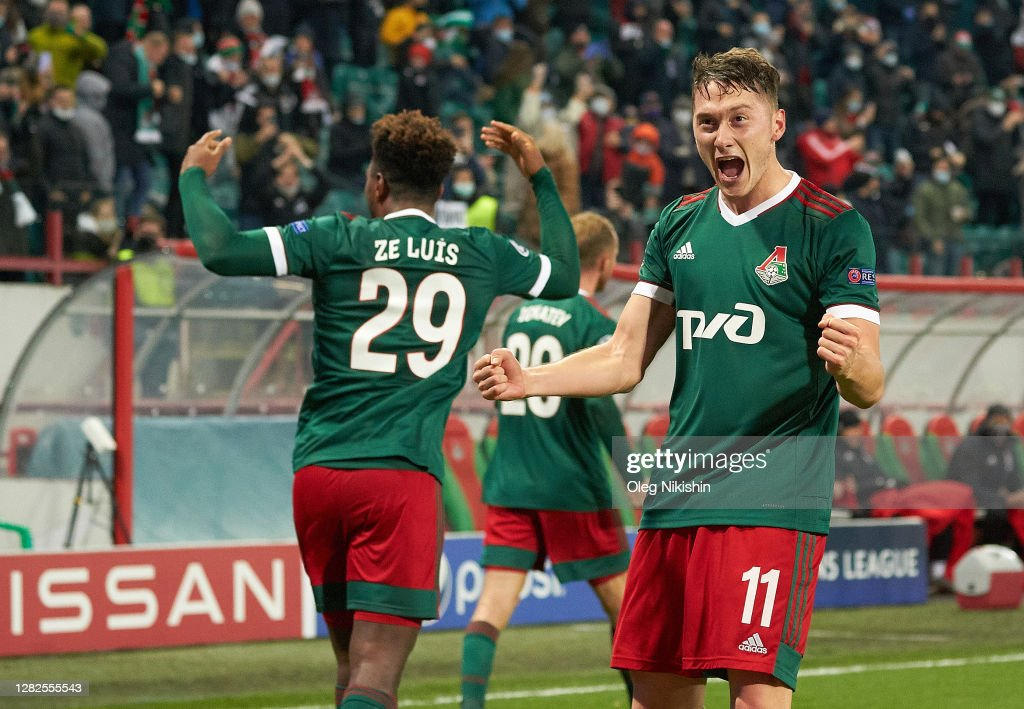 Lokomotiv Moskva v FC Bayern Muenchen: Group A - UEFA Champions League : News Photo