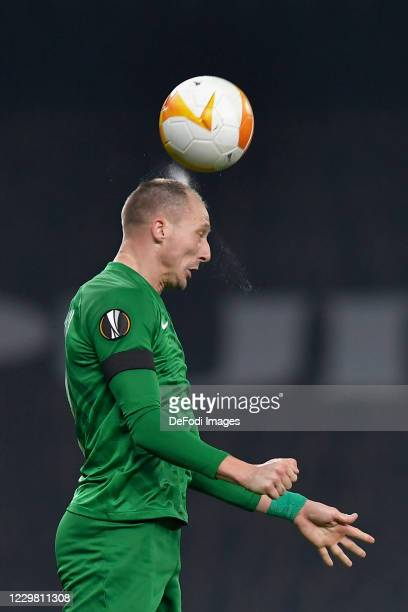 Anton NEDYALKOV of Ludogorets controls the ball during the UEFA Europa League Group J stage match between Tottenham Hotspur and PFC Ludogorets...