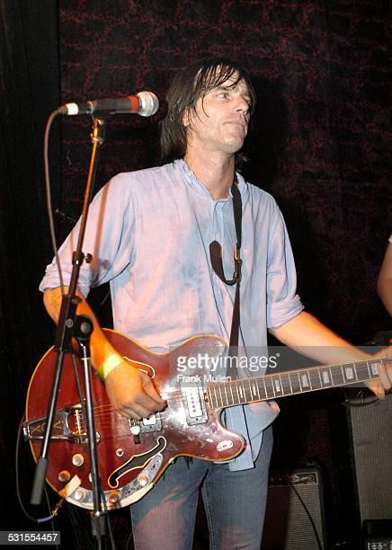 Anton Newcombe of Brian Jonestown Massacre during Brian Jonestown Massacre in Concert at The Earl in Atlanta August 6 2005 at The Earl in Atlanta...