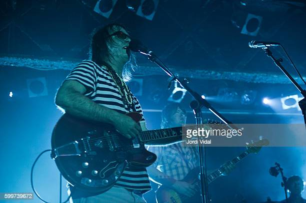 Anton Newcombe of Brian Jonestown Massacre performs on stage at Razzmatazz on September 6 2016 in Barcelona Spain
