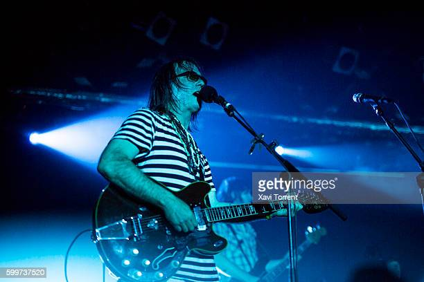 Anton Newcombe of The Brian Jonestown Massacre performs in concert at Sala Razzmatazz 2 on September 6 2016 in Barcelona Spain