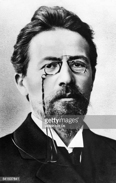 Anton Pavlovich Chekhov *29011860 writer dramatist Russia portrait