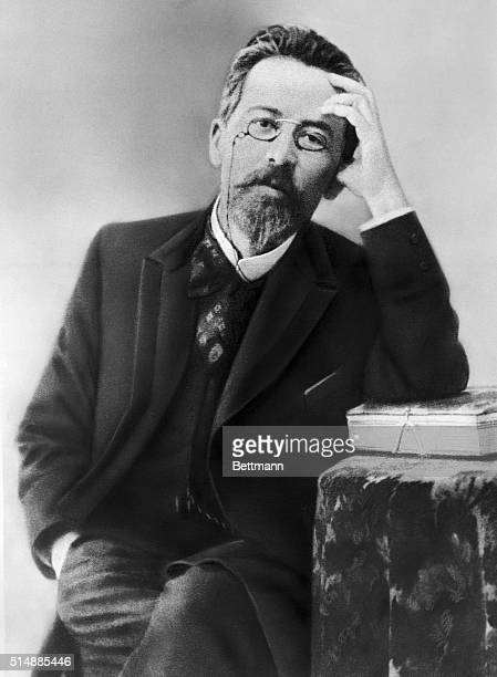 Anton Pavlovich Chekhov , Russian playwright and fiction writer. Known for vivid portrayals of harsh Russian life without romantic illusion. Undated...