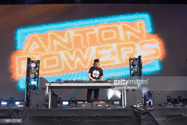 Anton Powers performs on stage during Day 2 of Fusion Festival 2019 on August 30 2019 in Liverpool England