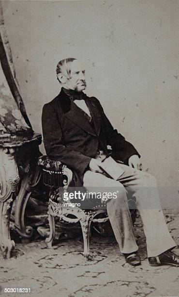 Anton Ritter von Schmerling Austrian politician and jurist and 1871 President of the Austrian mansion About 1859 Photograph by Ludwig Angerer Vienna...