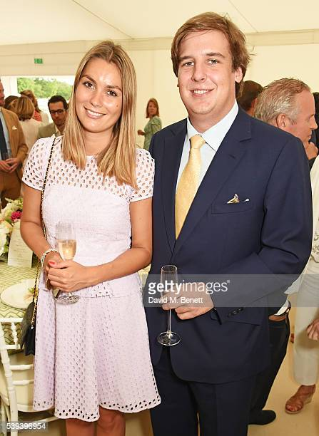 Anton Rupert Jr. Attends The Cartier Queen's Cup Final at Guards Polo Club on June 11, 2016 in Egham, England.