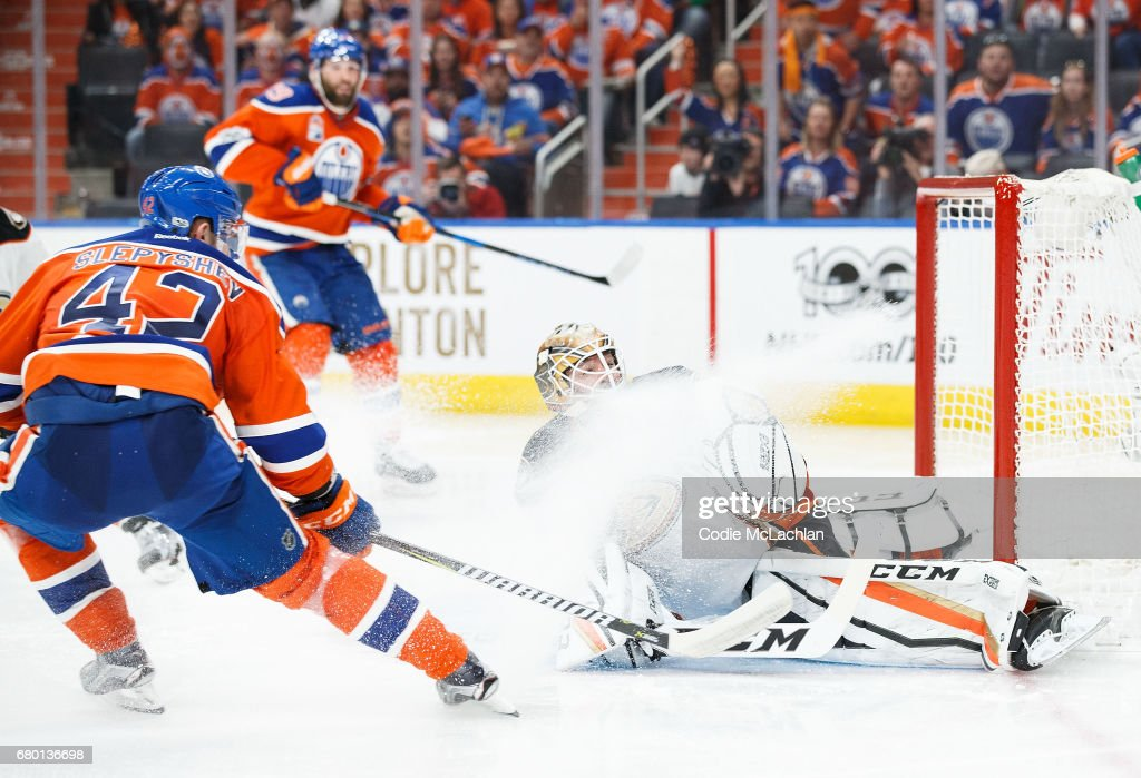 Anaheim Ducks v Edmonton Oilers - Game Six