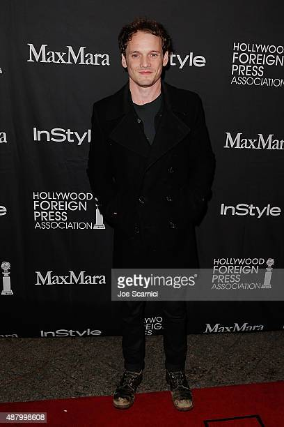 Anton Yelchin attends HFPA/InStyle's Annual TIFF Celebration at Windsor Arms Hotel on September 12 2015 in Toronto Canada