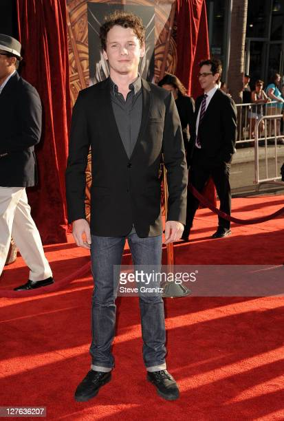Anton Yelchin attends the Thor Los Angeles Premiere at the El Capitan Theatre on May 2 2011 in Hollywood California