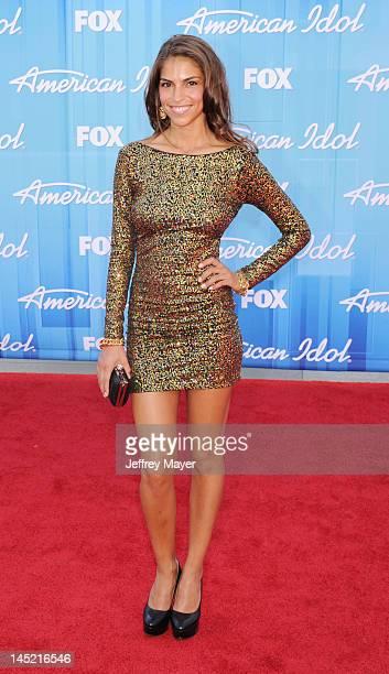 Antonella Barba attends 'American Idol' Season 11 Grand Finale Show at Nokia Theatre LA Live on May 23 2012 in Los Angeles California