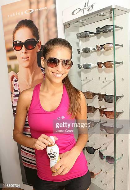 Antonella Barba attends the Muscle Milk Fitness Retreat on June 17, 2011 in Venice, California.